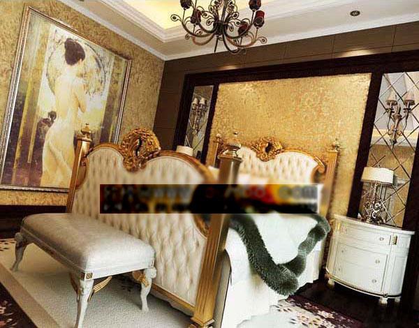 欧式贵族风格卧室