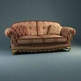 俄罗斯现代家具12-双人沙发模型