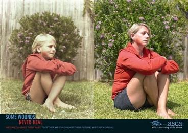 成年人虐待儿童生存公益广告欣赏:伤口篇