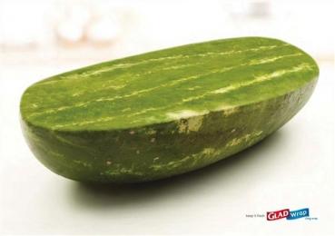 Glad Wrap食品保鲜膜创意广告设计欣赏