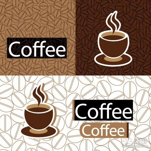 咖啡主题矢量图2