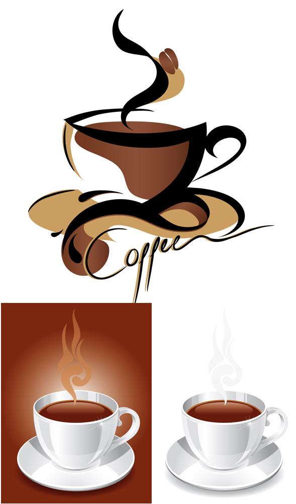 咖啡,咖啡杯,托盘,饮料,抽象,图形,咖啡厅,矢量图,设计素材,eps格式