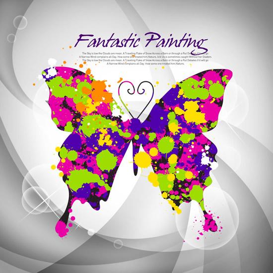 蝴蝶锁屏图案步骤