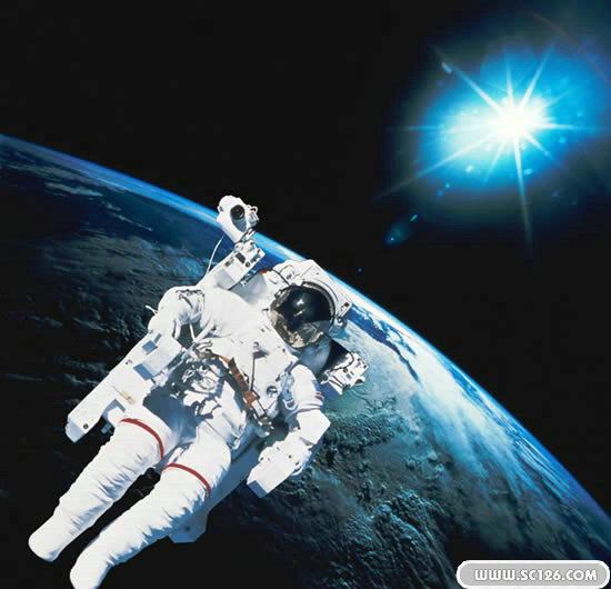 太空人 宇航员 地球 宇宙 极点图片素材,太空人psd素材免费下载,免费
