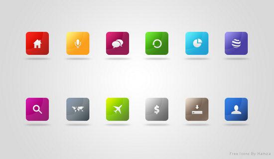 网页装饰图标psd素材免费下载,网站图标,方块图标,按钮图标图片素材
