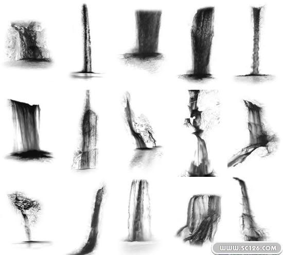 ps后期图片素材,ps后期设计瀑布psd素材免费下载,免费瀑布psdpsd素材