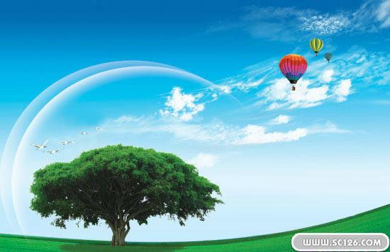 一棵大树图片素材,唯美一棵树psd素材免费下载,免费树木psd素材
