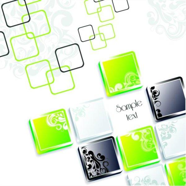 时尚,设计,eps格式,立体,方块,底纹,背景,,设计素材,eps格式