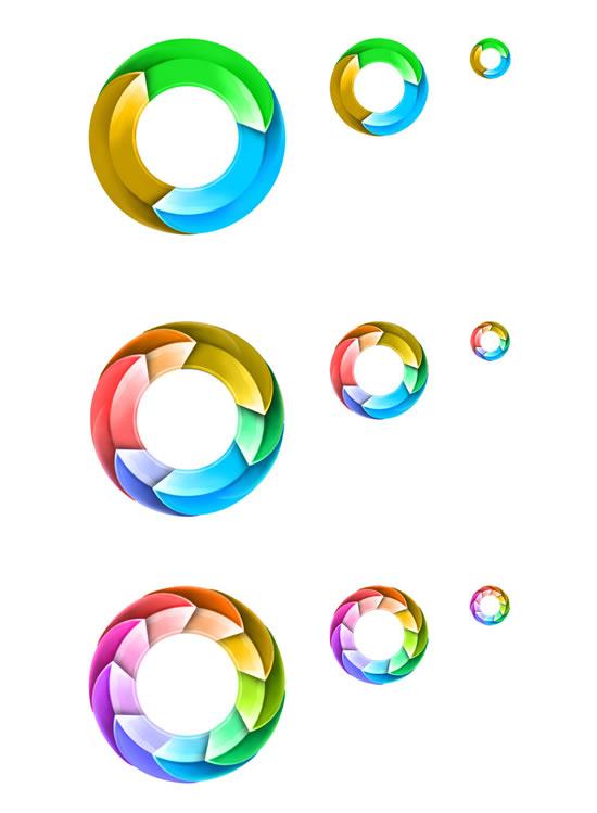 圆圈变变变图片