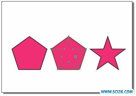 coreldraw 编辑几何图形