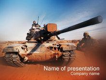 坦克軍事戰爭PPT模板