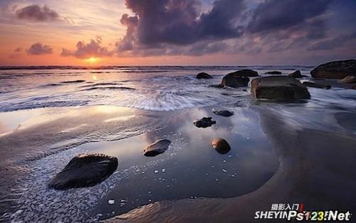 如何拍摄出美丽的海景风光