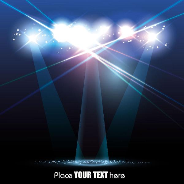 舞台,聚光灯,灯光,等,射灯,光晕,矢量图,设计素材,eps格式
