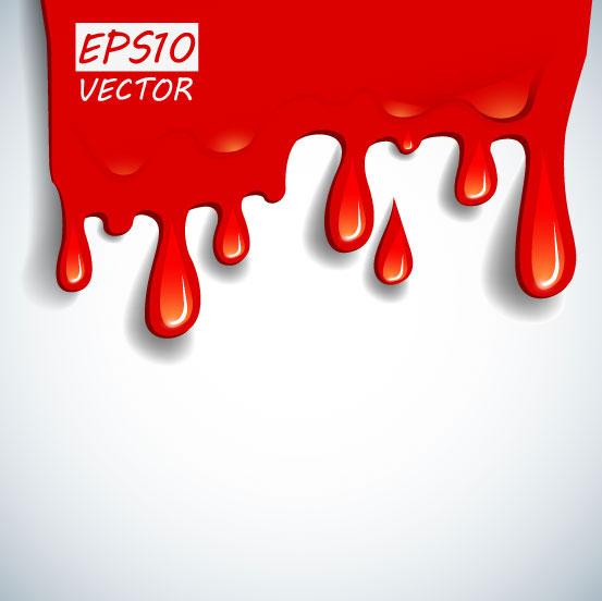 卡通,红色,滴血,血滴,背景,矢量图,设计素材,eps格式