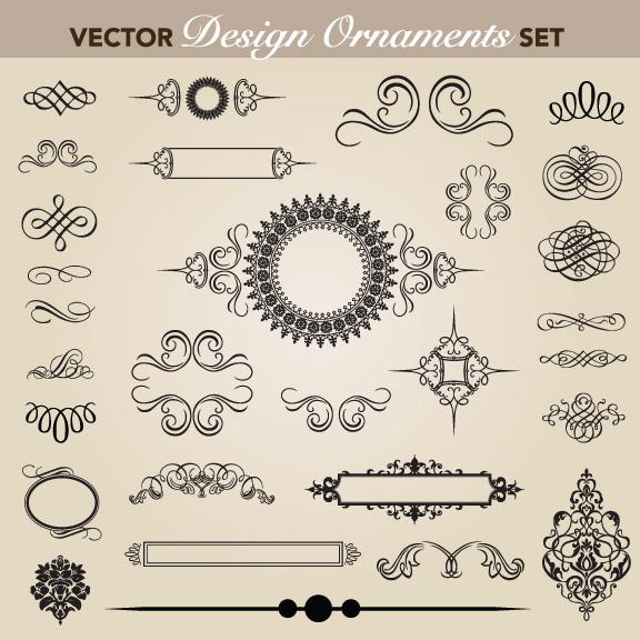欧式,花纹,花环,纹样,样式,花边,边框,矢量图,设计素材,eps格式