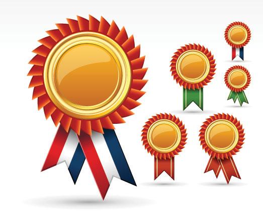 徽章,奖章,胸章,色带,矢量图,设计素材,eps格式