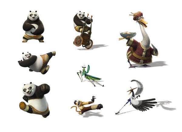 功夫熊猫2电影