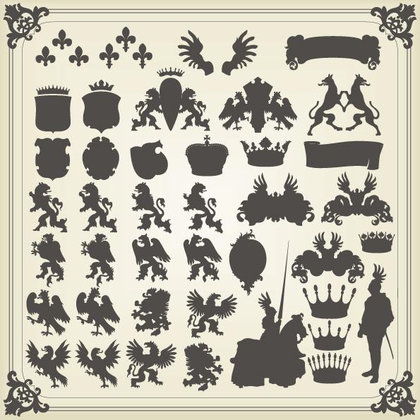 图腾,花纹,纹理,图案,底纹,背景,边框,动物,龙,凤,狮子,狼,人物,皇冠