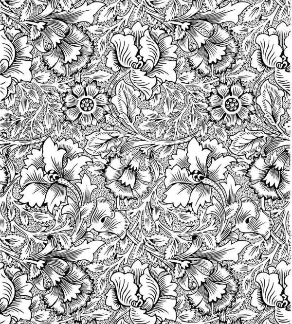 欧式,精美,花纹,花边,花藤,图案,底纹,背景,植物,矢量图,设计素材,eps