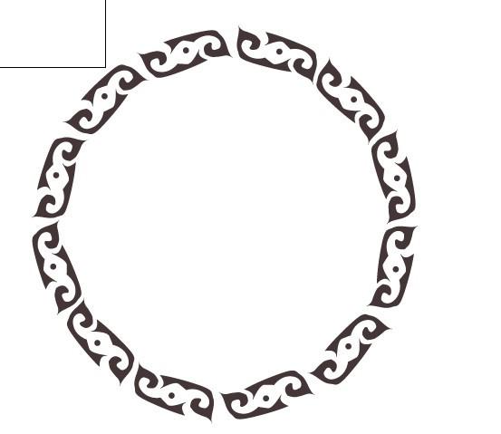 圆形,花边,花纹,矢量图,,设计素材,本内容版权:    ai格式