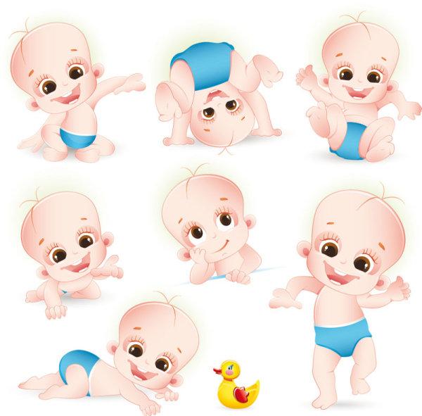 卡通,婴儿,玩具,可爱,儿童,矢量图,设计素材,eps格式