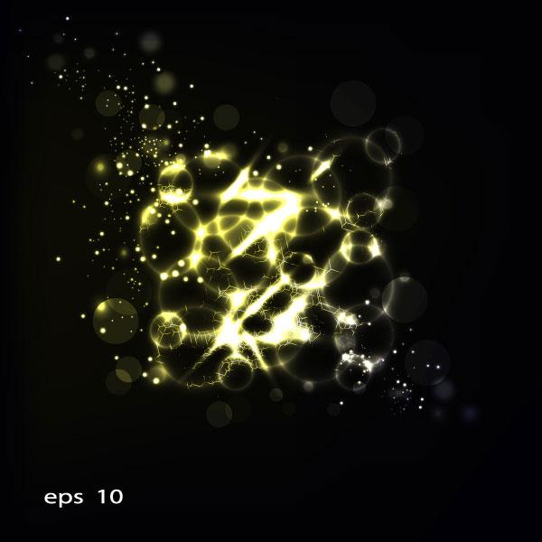 璀璨,星光,背景,光晕,光环,矢量图,设计素材,eps格式