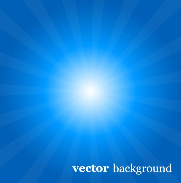 蓝色,光线,阳光,射线,背景,矢量图,设计素材,eps格式
