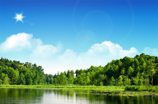 树林,森林,树木,湖泊,蓝天白云,湖畔风景图片素材,免费草原psd素材库