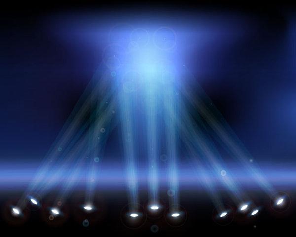 灯光,光晕,灯,光线,矢量图,设计素材,eps格式