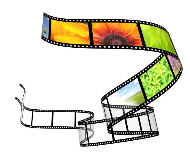 创意电影胶片图片素材