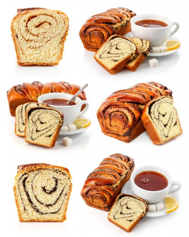 面包咖啡图片素材-饮用食品-高清图片-素彩网图片