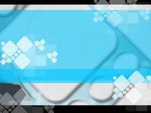 清風藍韻背景PPT模板