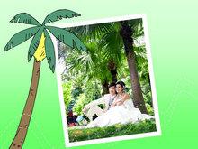 婚纱摄影艺术PPT模板