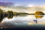 宁静山水风景图片