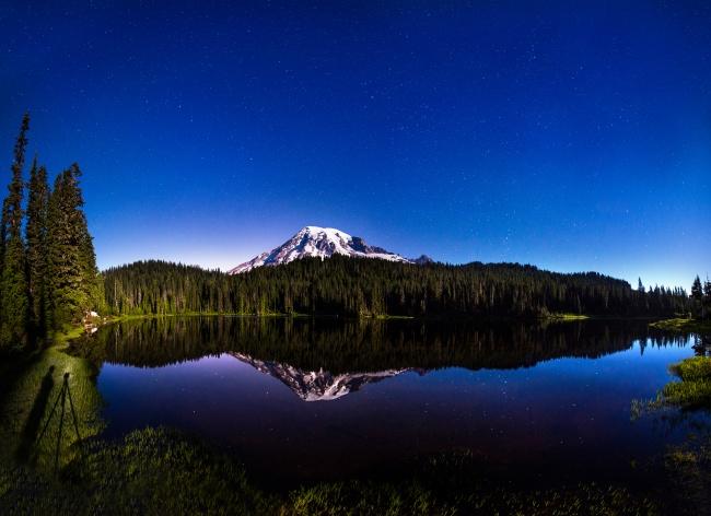 湖水,蓝天,唯美意境图片,唯美风景,山峰,湖水,蓝天,白云,雪山,湖泊,树