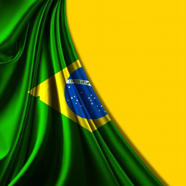 2014世界杯巴西国旗图片