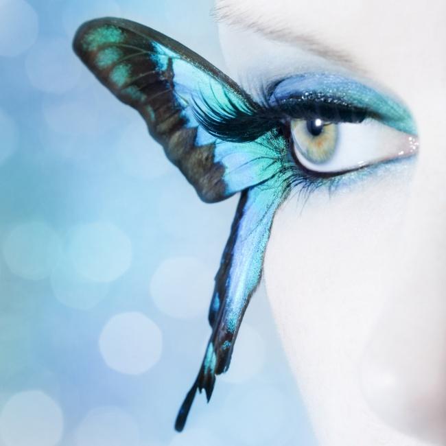 创意设计图片,创意眼妆,眼妆,彩妆,眼睛,创意,蝴蝶,眼妆,创意眼妆