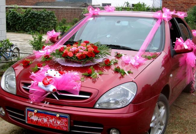 婚礼花车,婚车,鲜花,鲜花婚车,婚车扎花,玫瑰花,花朵,花卉,图片大全