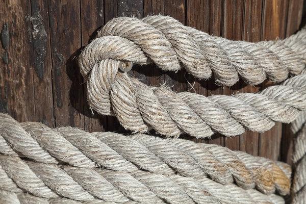 木板麻绳3图片素材