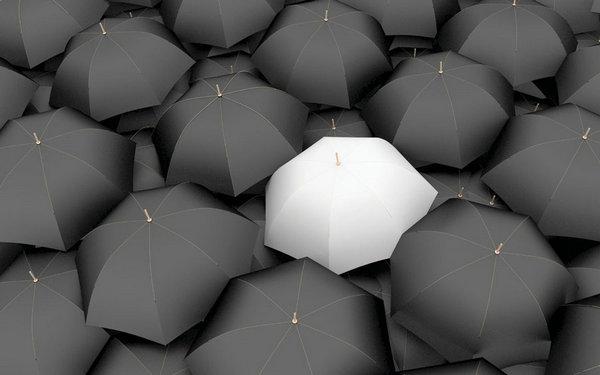 商务创意图片图片素材,商务,创意,雨伞,伞,白雨伞,黑雨伞,露营图片