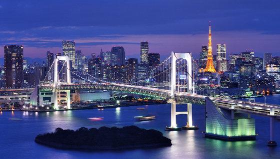 东京夜色城市高清图片-风景图片-高清图片-素彩网