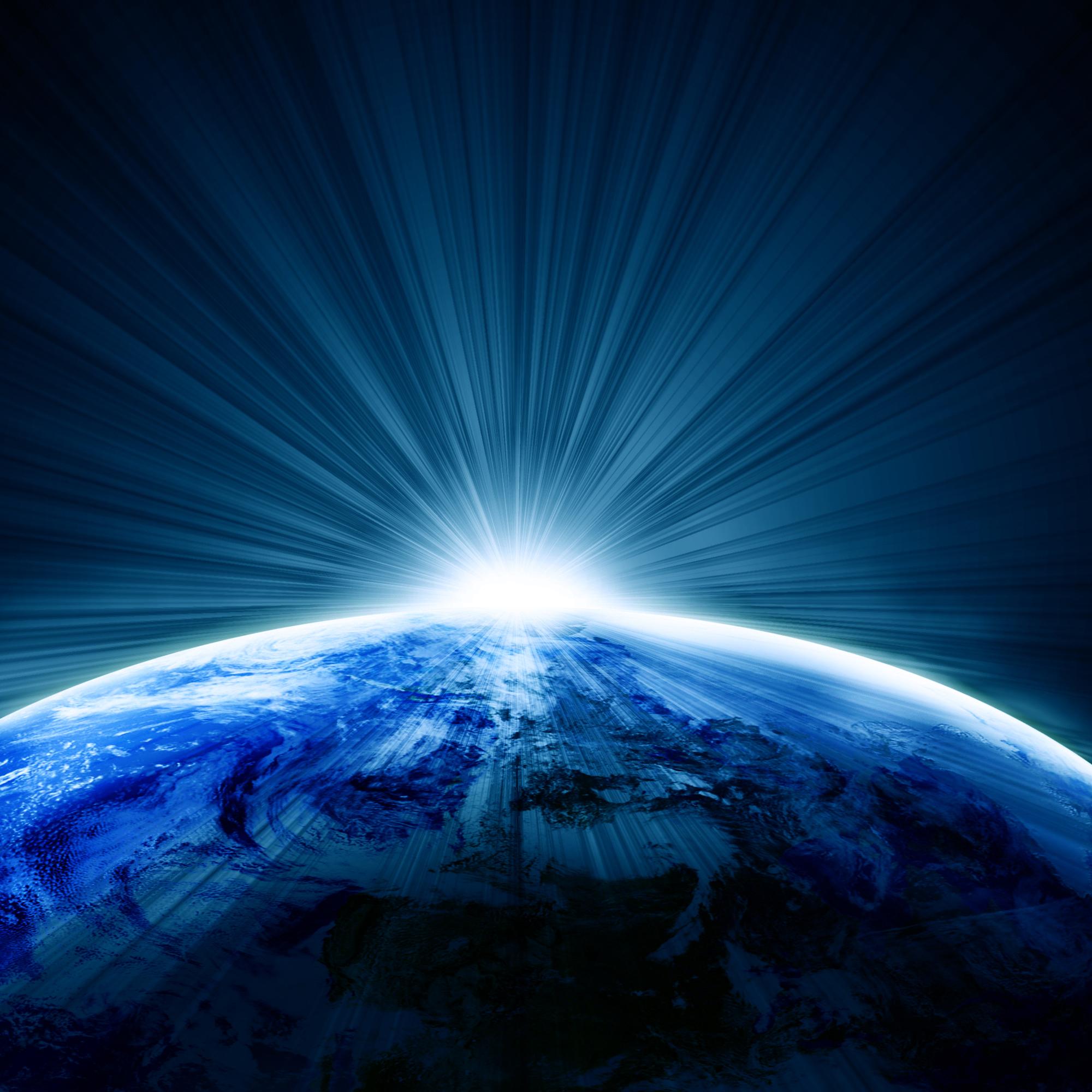 地球太空光影效果图片素材,地球,太空,光影效果图片下载