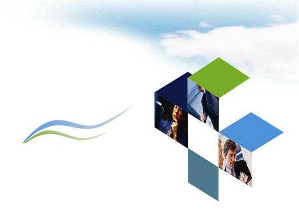 科研课题报告PPT模板 科技PPT模板 ppt模板 素彩图