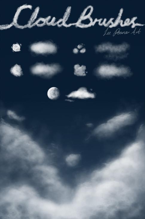 cloudbrushesps笔刷ps素材,云,笔刷,ps笔刷ps素材下载