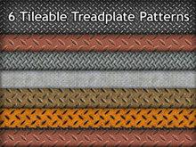 6的可平鋪版Treadplate模式