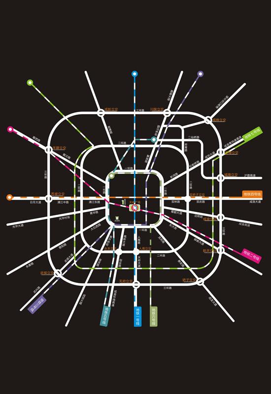 成都市地铁路线图矢量图,交通线路,地铁分布图,成都市地铁矢量图,免费