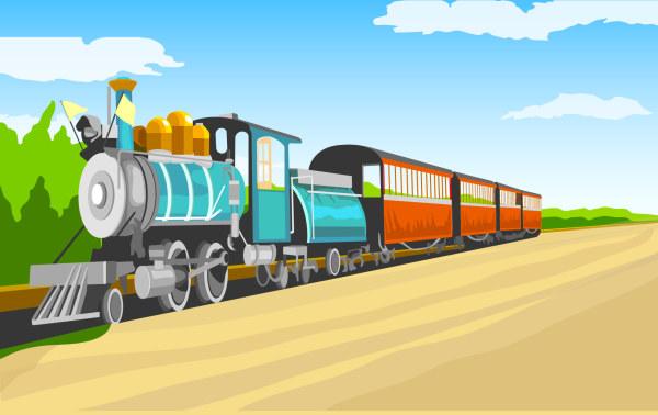 火车总体结构图