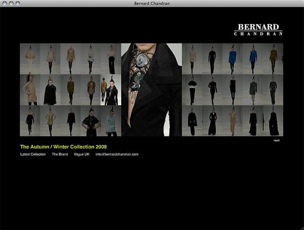 个人搜藏的一些网页设计欣赏