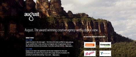 80个精选使用大图片背景的网站设计欣赏