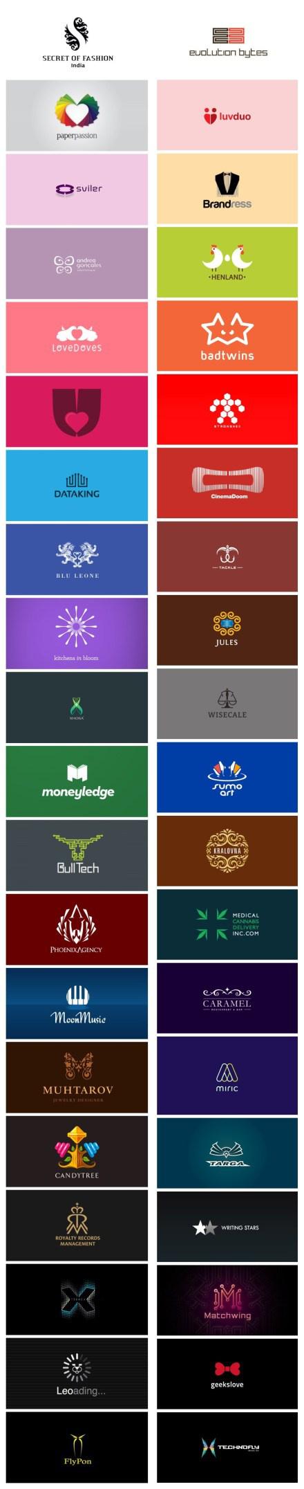 40个图文结合的logo设计.